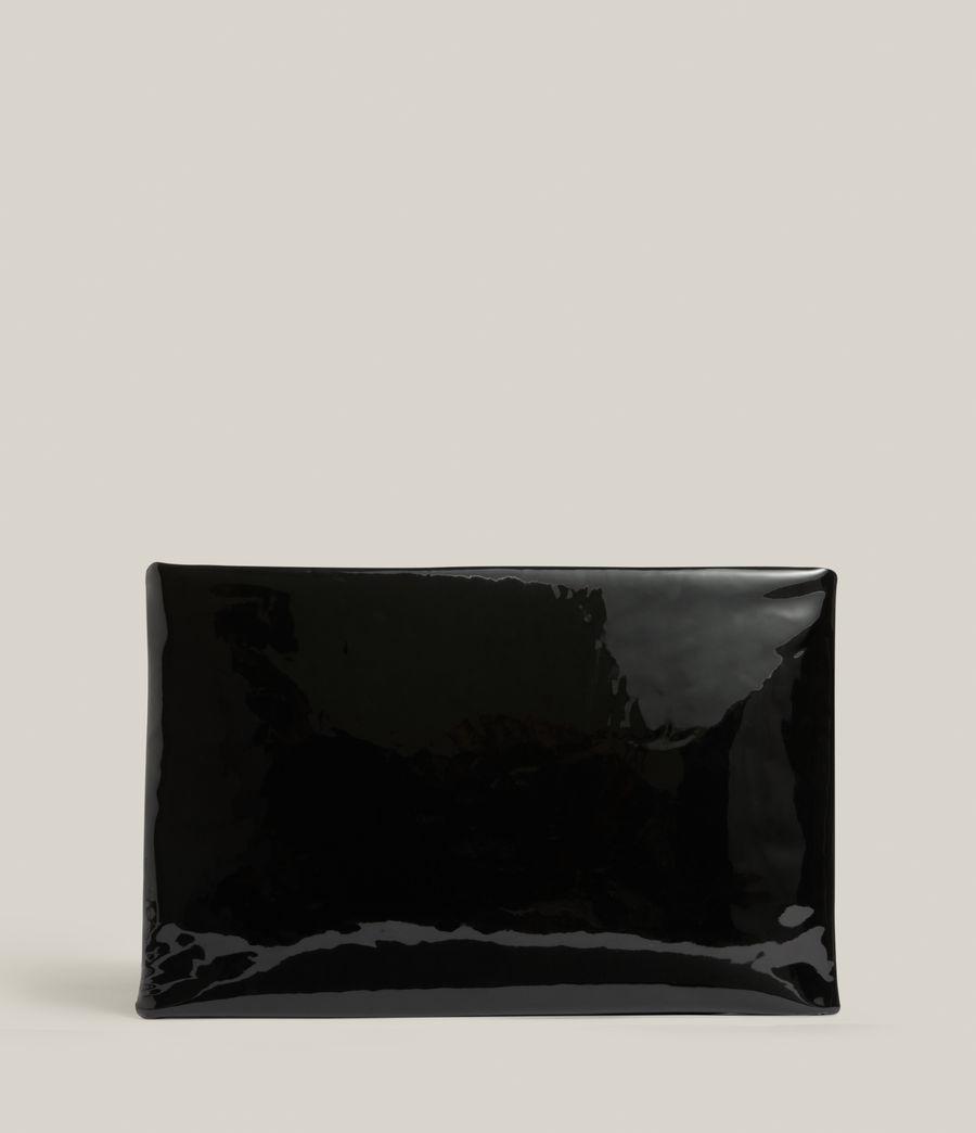 Femmes Pochette en Cuir Bettina (liquid_black) - Image 7
