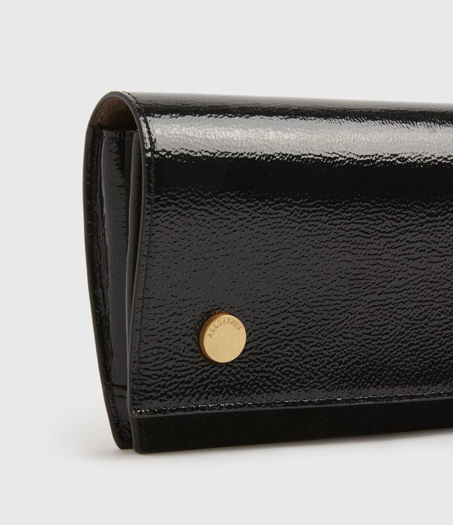 Women's Albert Leather Wallet (squid_ink_blue) - Image 3