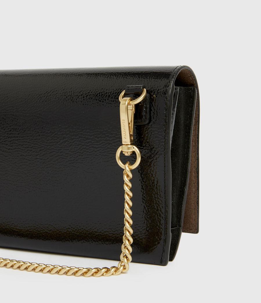 Women's Albert Leather Wallet (squid_ink_blue) - Image 4