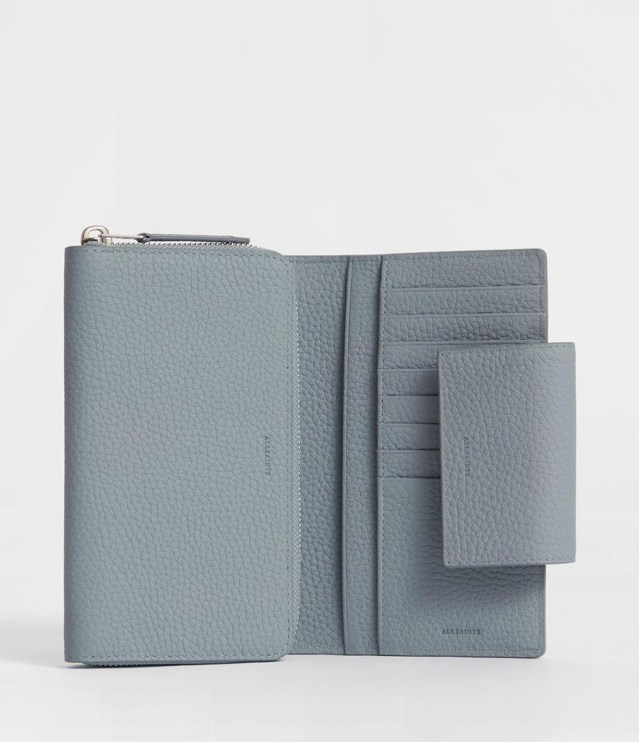 Womens Captain Leather Wallet (denim_blue) - Image 4