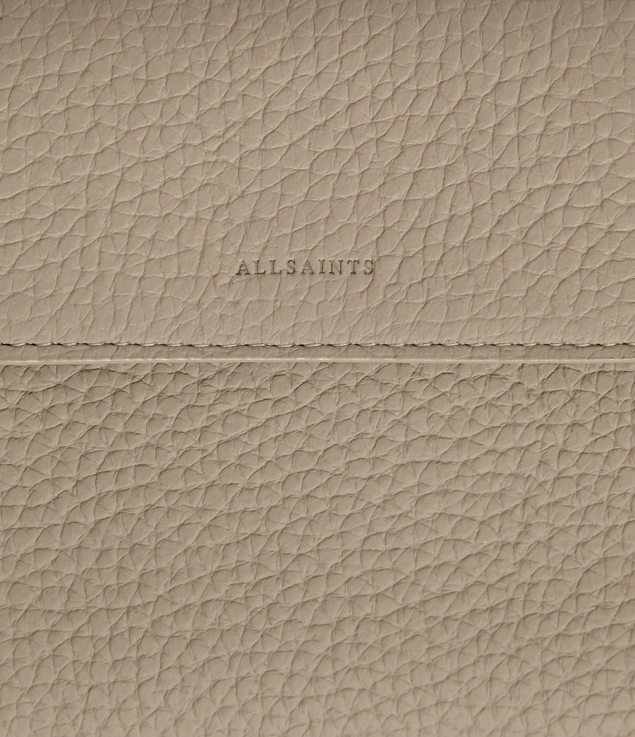 Womens Captain Leather Wallet (dune) - Image 5