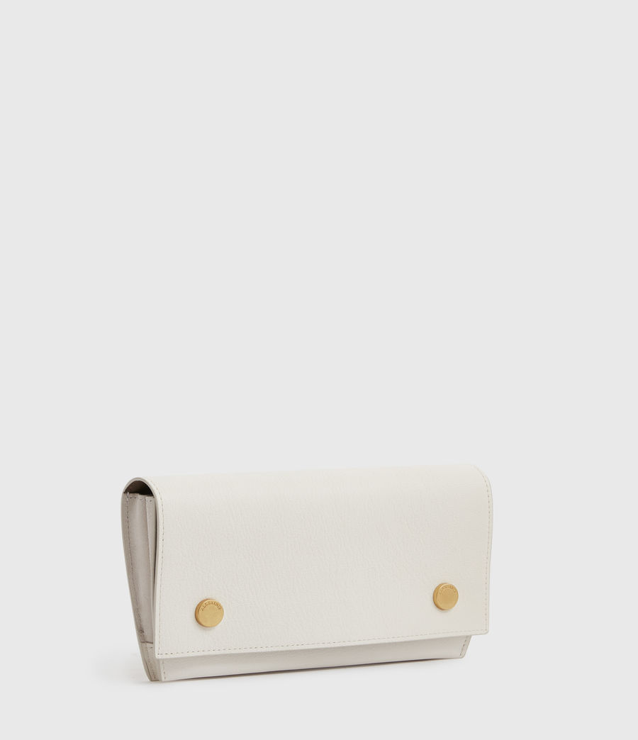 Women's Albert Leather Wallet (roe_white) - Image 2