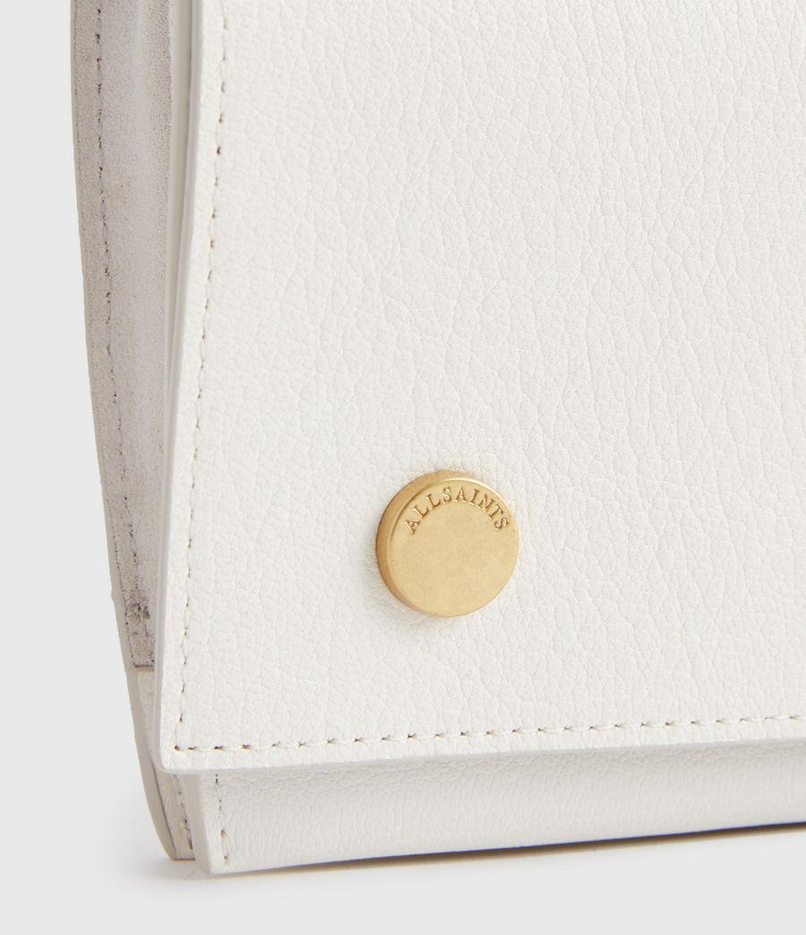 Women's Albert Leather Wallet (roe_white) - Image 3