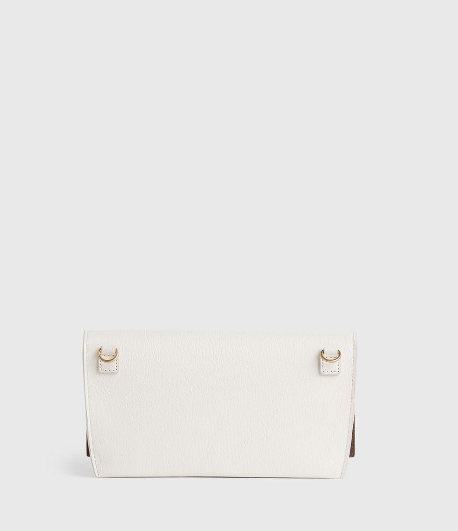 Women's Albert Leather Wallet (roe_white) - Image 5