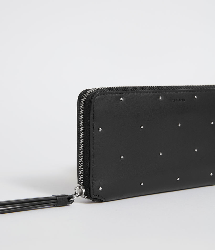 Womens Kathi Leather Phone Wristlet (black) - Image 4