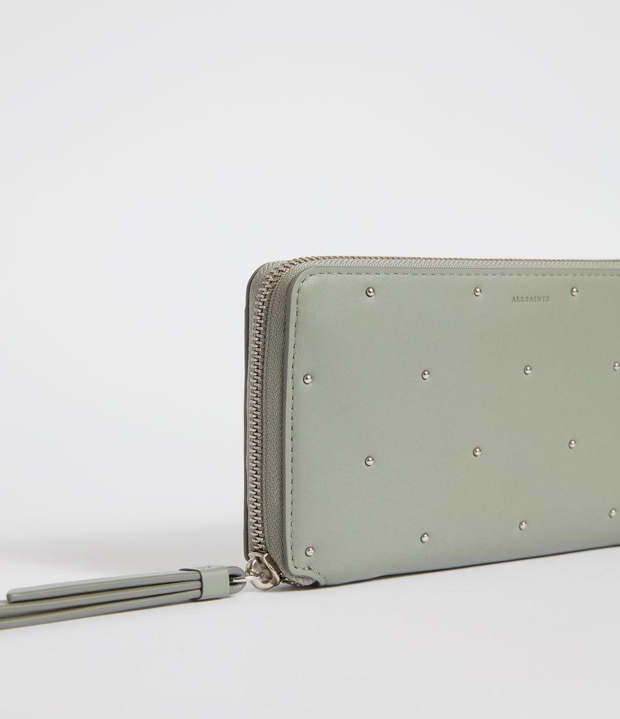 Womens Kathi Leather Phone Wristlet (blue_grey) - Image 4