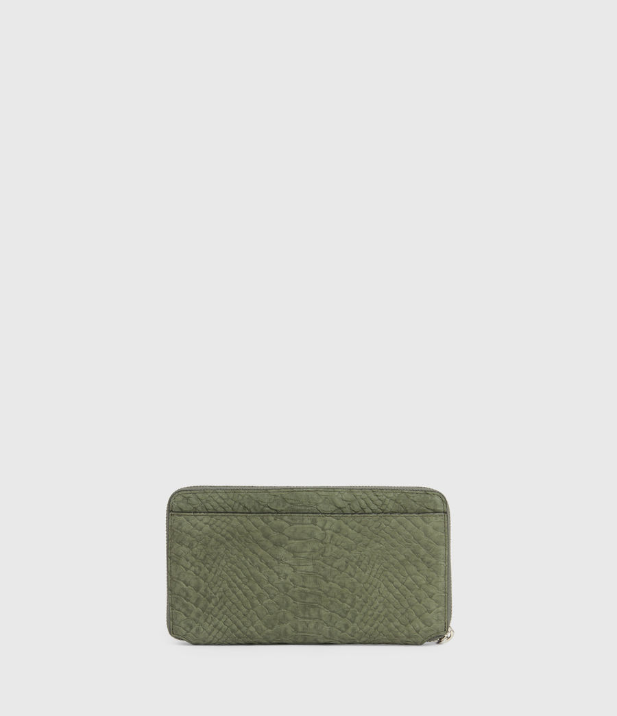 Women's Fetch Leather Phone Wristlet (sage_green) - Image 5