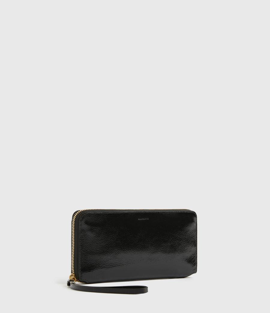 Damen Fetch Leather Phone Wristlet (squid_ink_blue) - Image 3