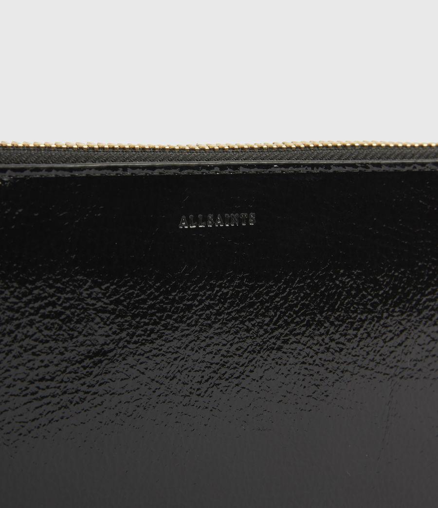 Damen Fetch Leather Phone Wristlet (squid_ink_blue) - Image 4