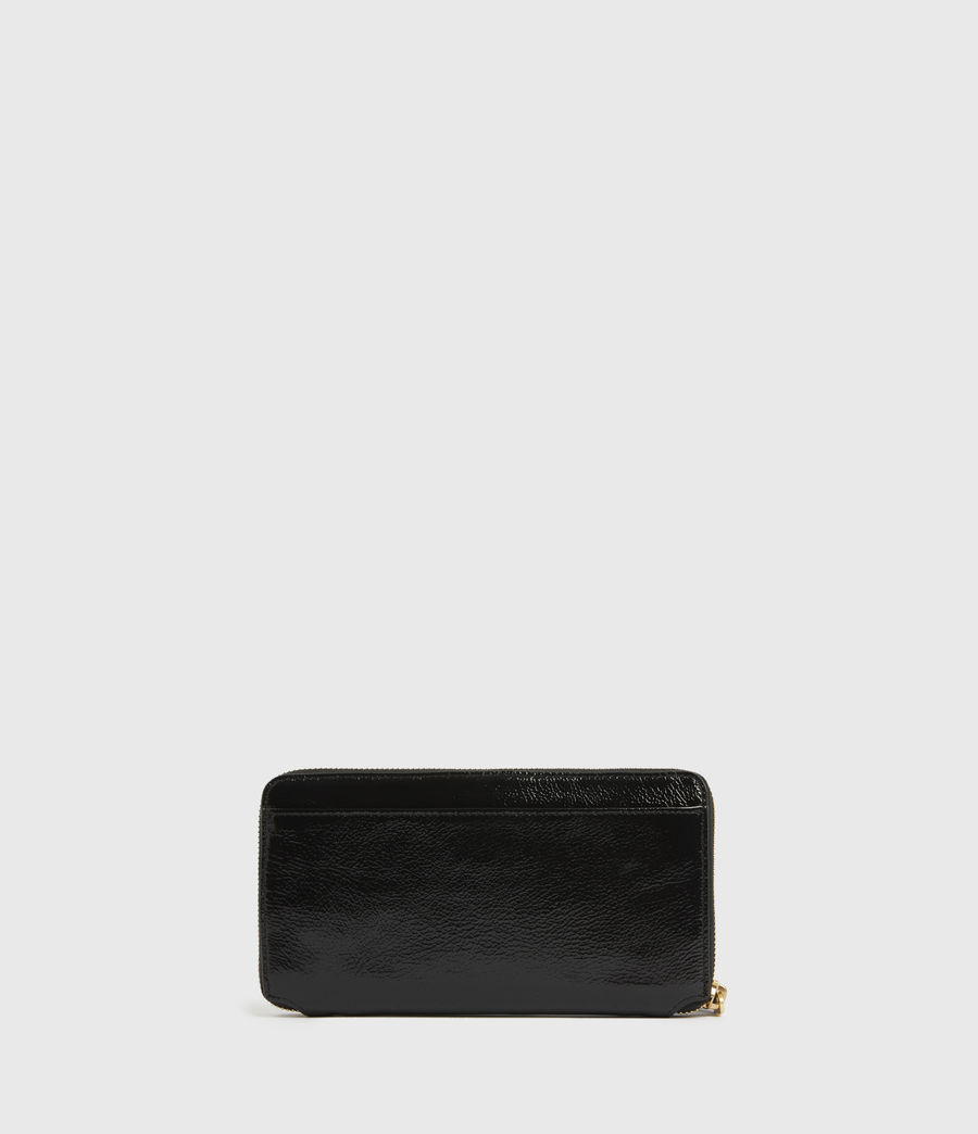 Damen Fetch Leather Phone Wristlet (squid_ink_blue) - Image 5