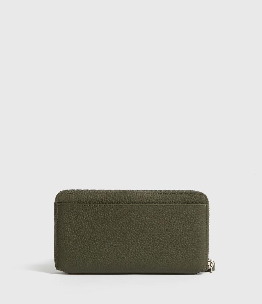 Women's Fetch Phone Leather Wristlet (khaki_green) - Image 6