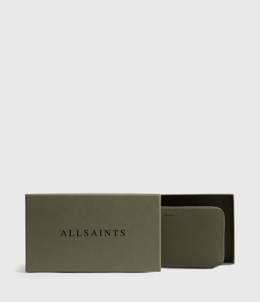 Women's Fetch Phone Leather Wristlet (khaki_green) - Image 7