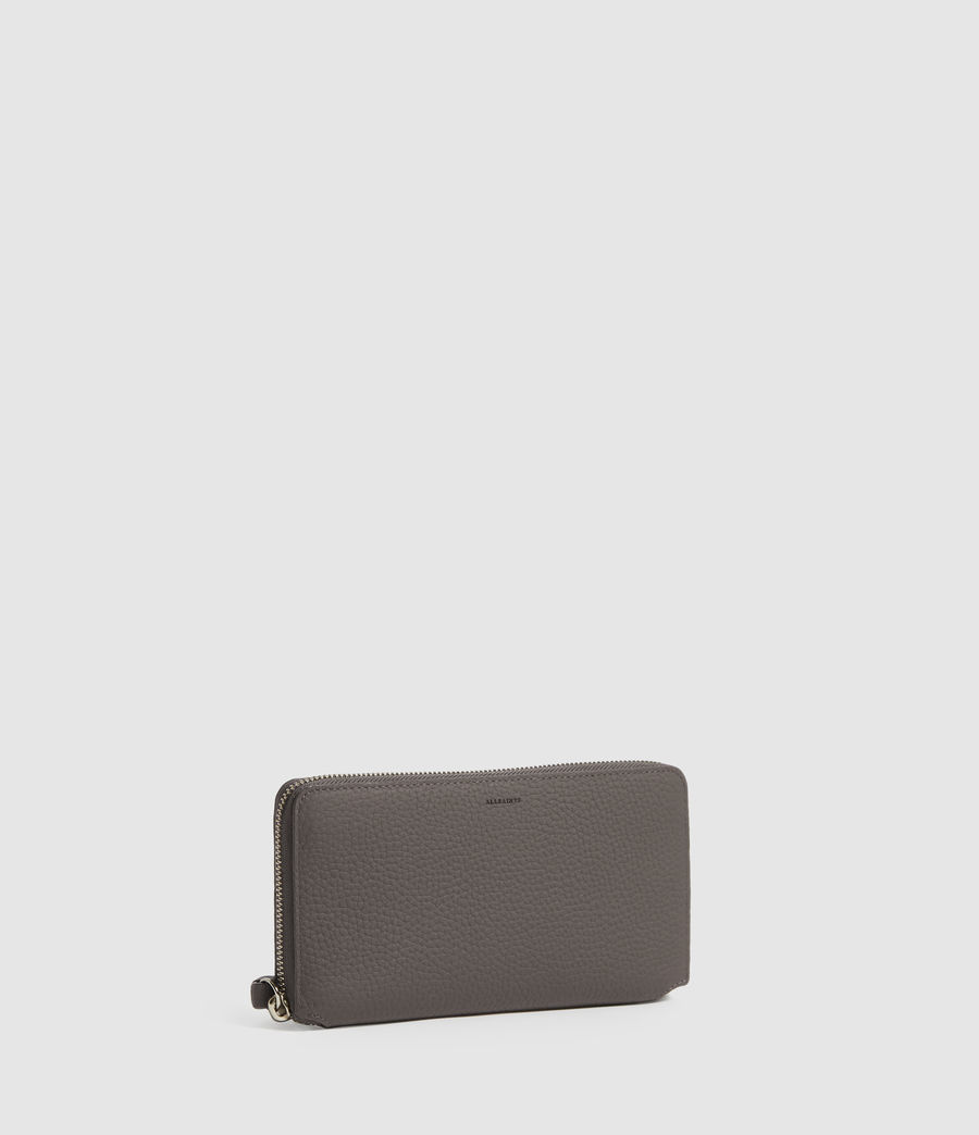 Women's Fetch Phone Leather Wristlet (storm_grey) - Image 3
