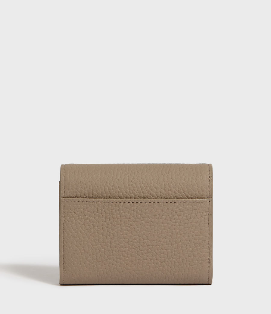 Mujer Captain Chain Leather Cardholder (dune) - Image 5