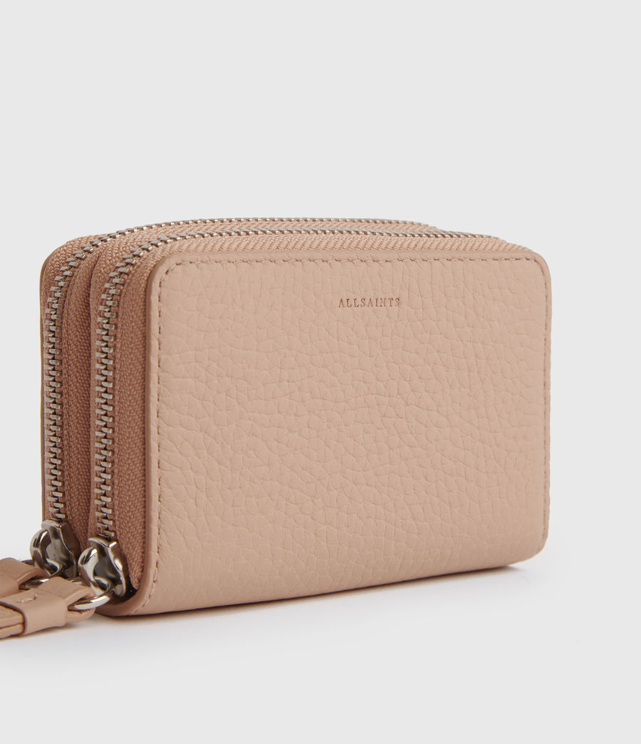 Women's Fetch Leather Cardholder (nude_pink) - Image 2