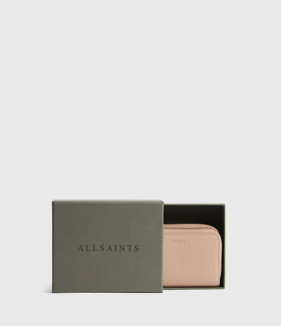 Women's Fetch Leather Cardholder (nude_pink) - Image 5