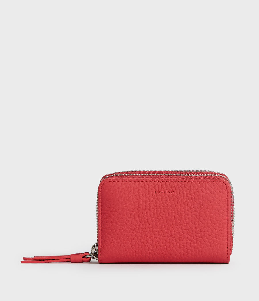 997cf07076 ALLSAINTS IT: Donna Borsellino Porta carte Fetch (coral_pink)