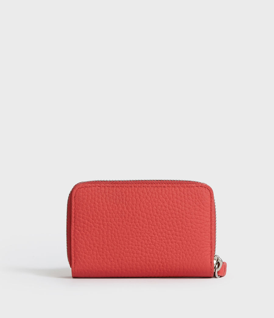 Women's Fetch Leather Cardholder (chalk_white) - Image 5