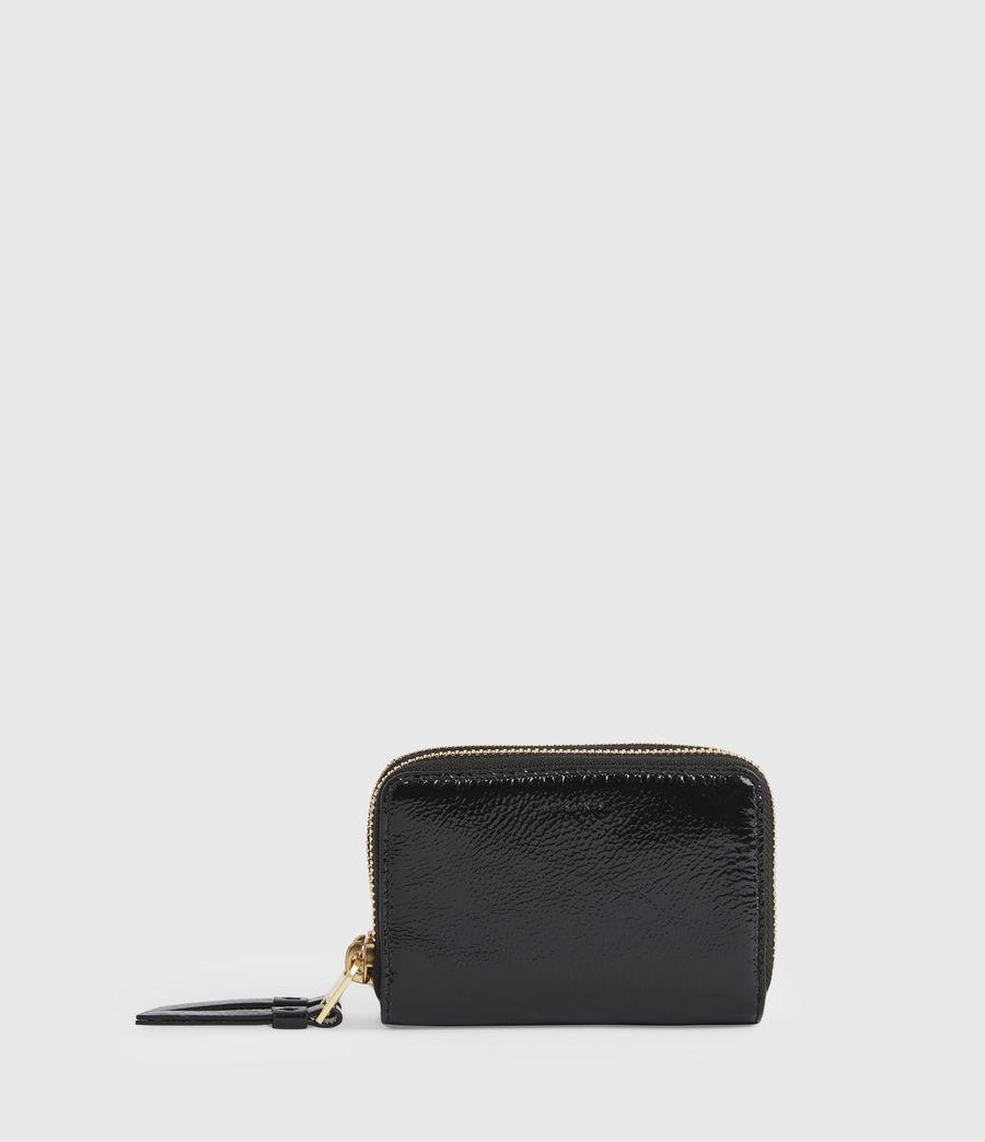 Women's Nantes Leather Cardholder (squid_ink_blue) - Image 1
