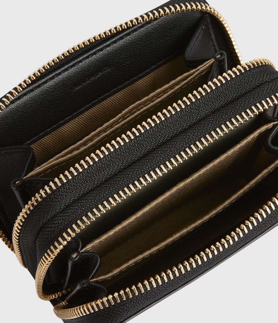 Women's Nantes Leather Cardholder (squid_ink_blue) - Image 2