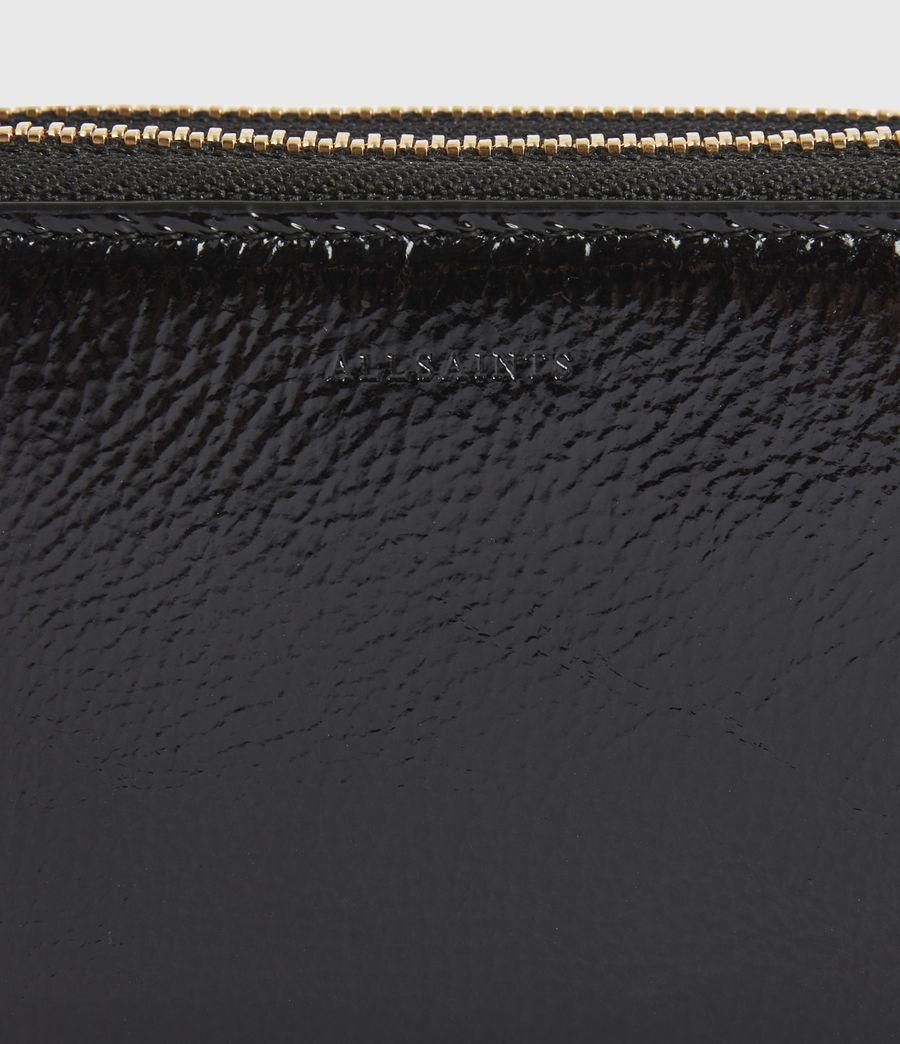 Women's Nantes Leather Cardholder (squid_ink_blue) - Image 4