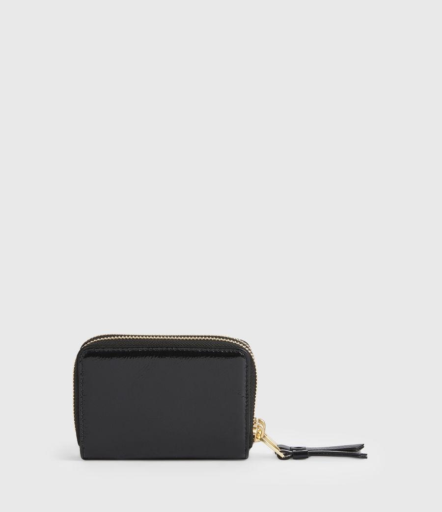 Women's Nantes Leather Cardholder (squid_ink_blue) - Image 5