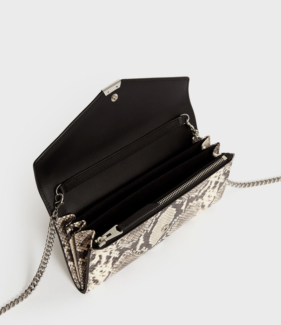 Womens Sliver Chain Wallet (natural) - Image 4