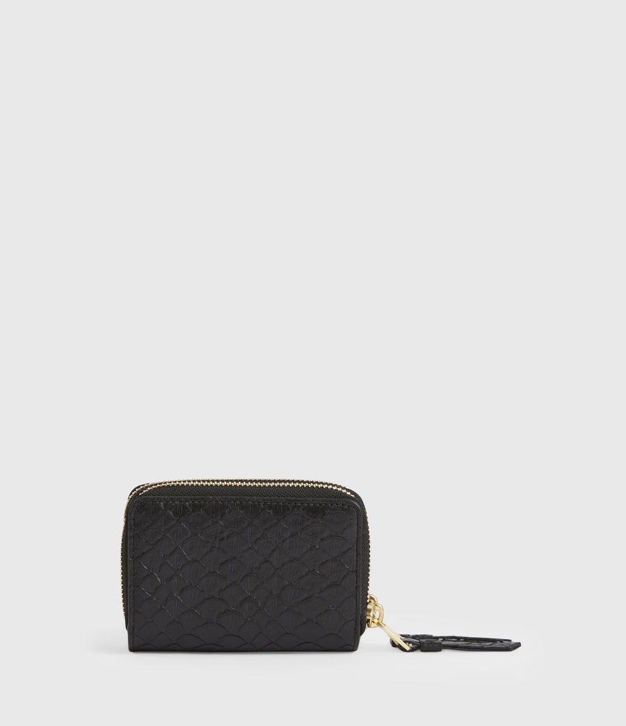 Women's Nantes Leather Cardholder (black_python) - Image 5