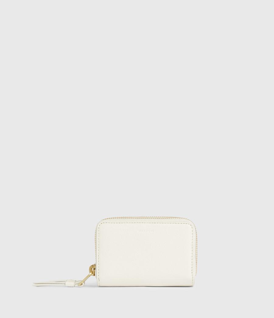 Women's Nantes Leather Cardholder (roe_white) - Image 1