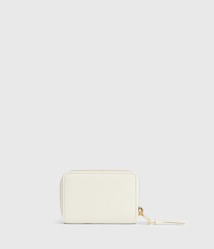 Women's Nantes Leather Cardholder (roe_white) - Image 5