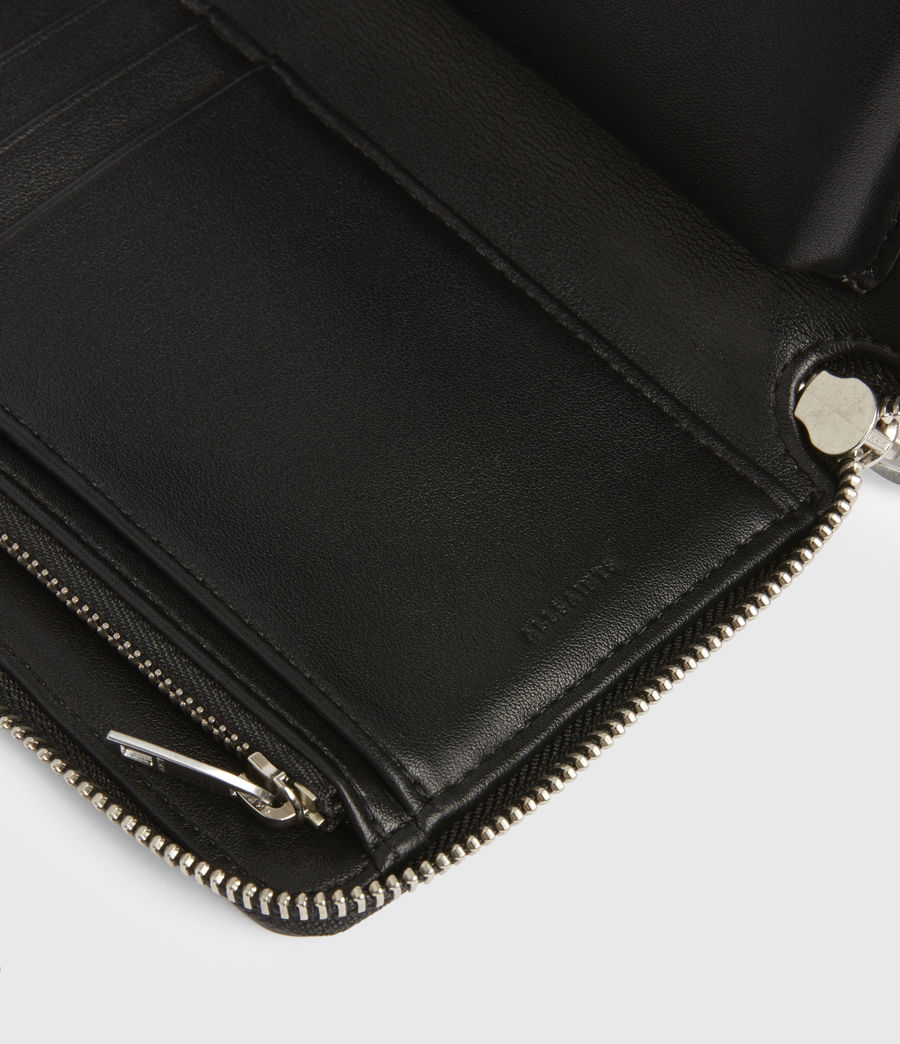 Women's Fetch Leather Phone Wristlet (silver) - Image 5