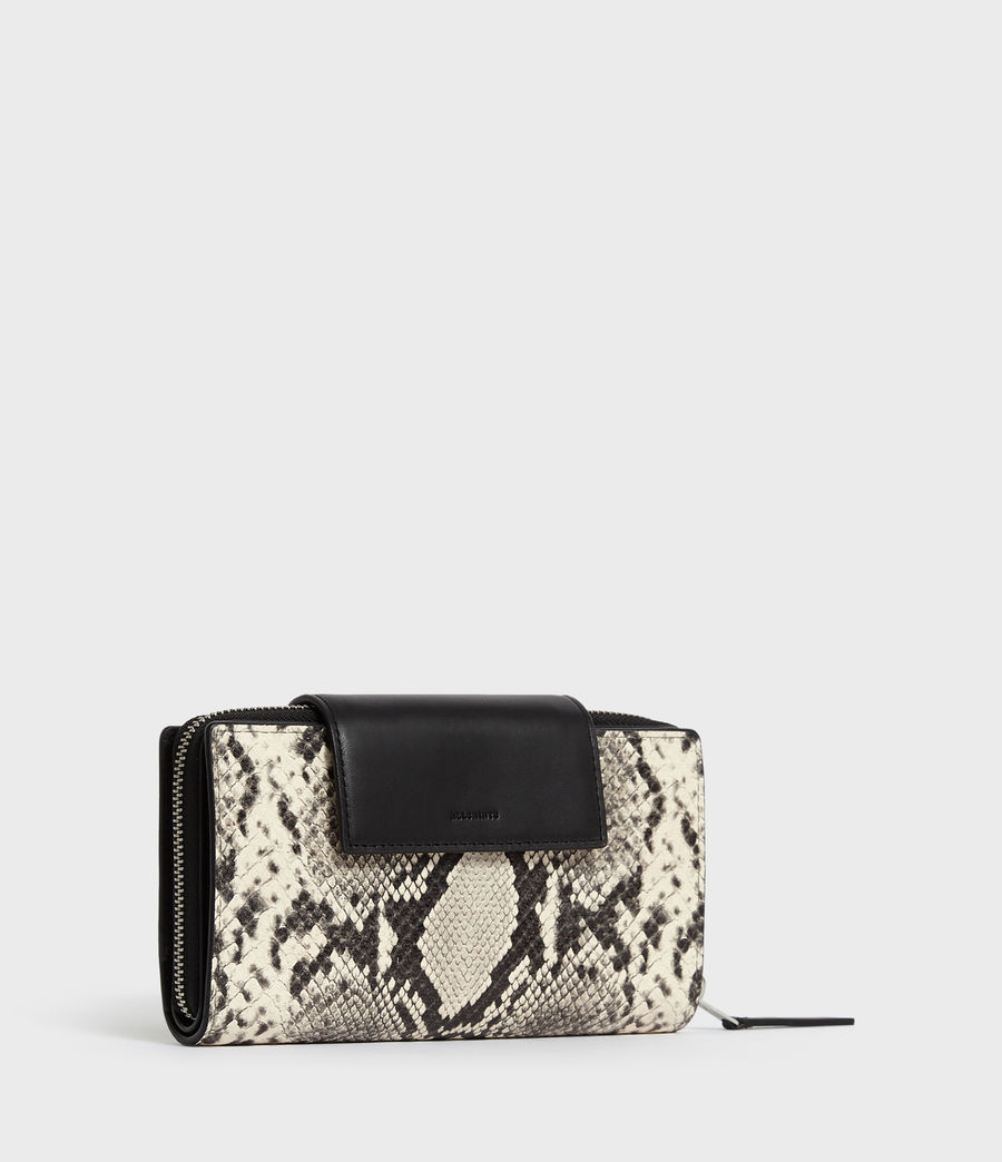 Women's Sliver Suede Wallet (natural) - Image 2