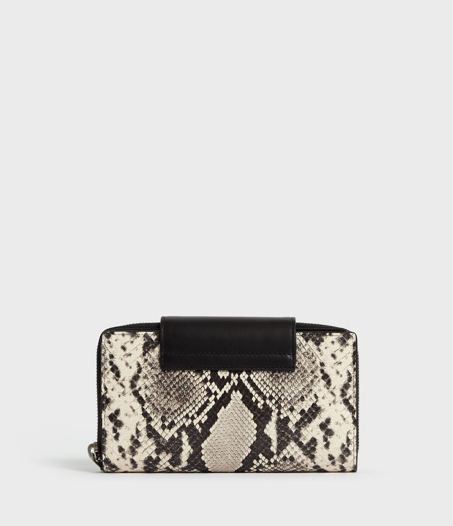 Women's Sliver Suede Wallet (natural) - Image 6