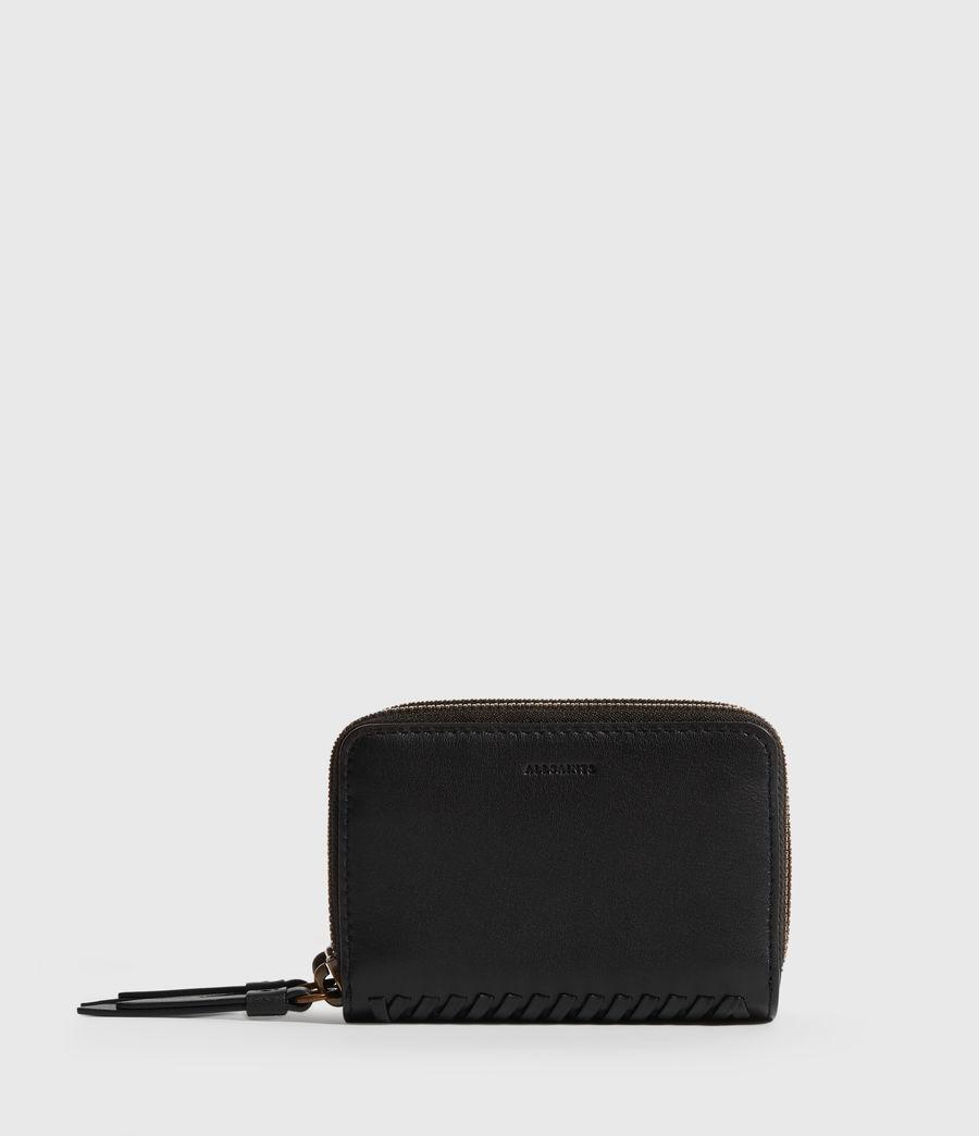 Women's Courtney Leather Cardholder (black) - Image 1