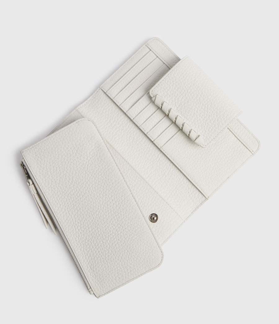 Mujer Kita Japanese Leather Wallet (chalk_white) - Image 2