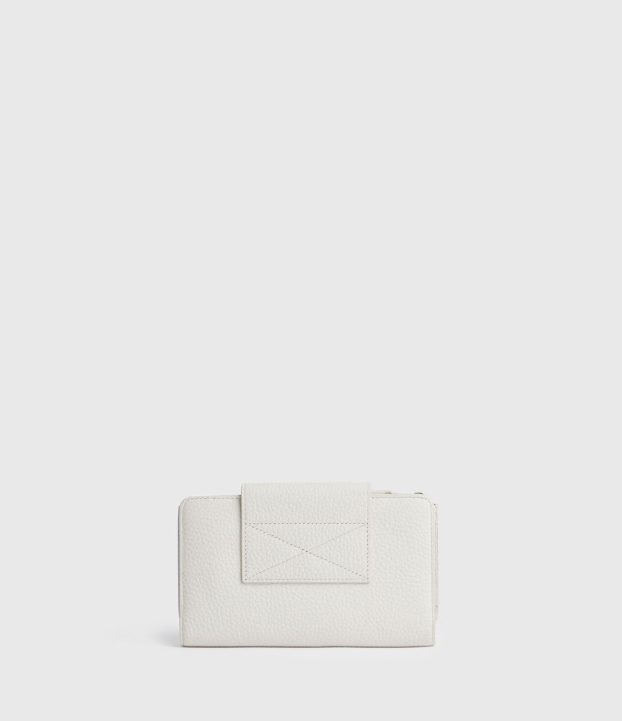 Mujer Kita Japanese Leather Wallet (chalk_white) - Image 6