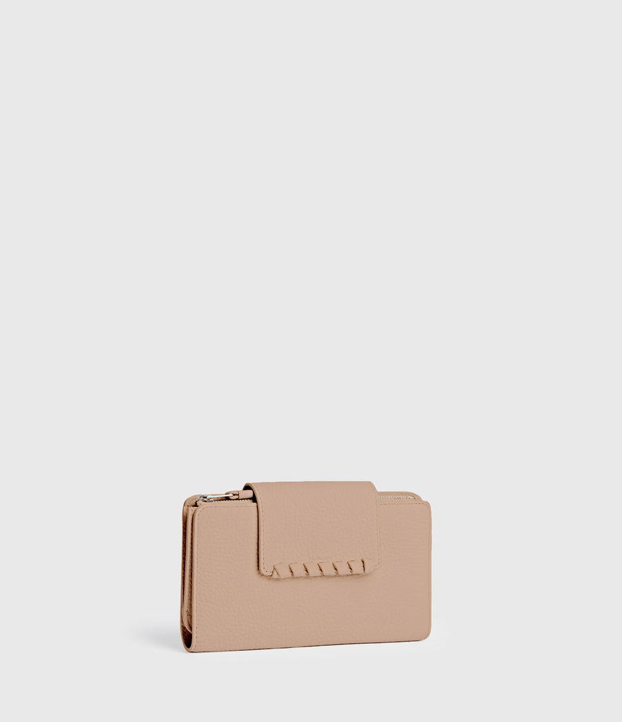 Womens Kita Japanese Leather Wallet (nude_pink) - Image 3