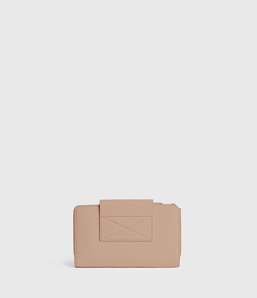 Mujer Kita Japanese Leather Wallet (nude_pink) - Image 6