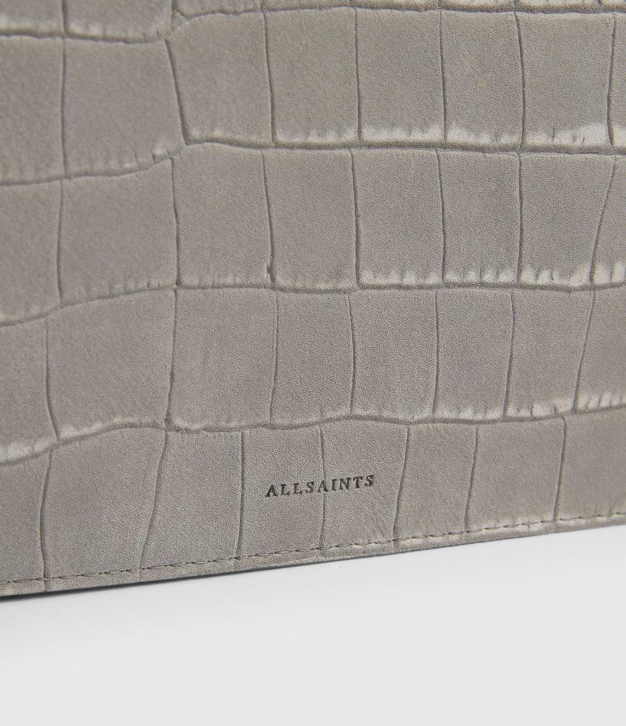 Femmes Claremount Leather Chain Crossbody Bag (mist_grey) - Image 5
