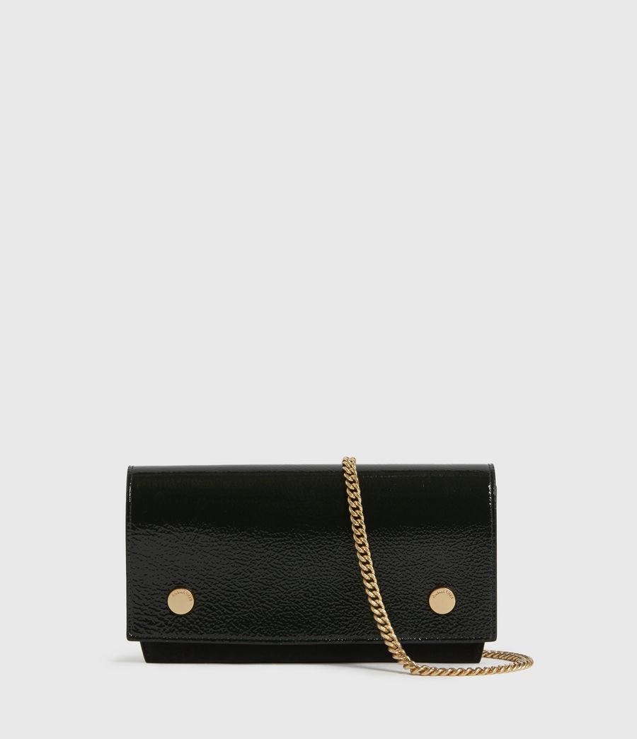 Womens Albert Leather Wallet (dark_green) - Image 1