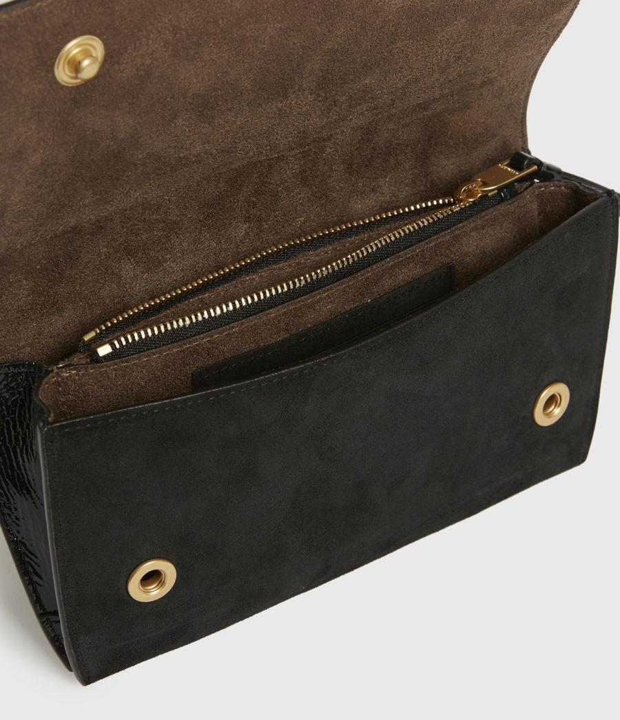 Womens Albert Leather Wallet (dark_green) - Image 2