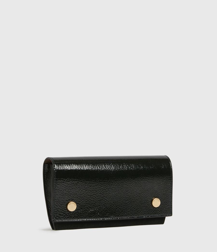 Womens Albert Leather Wallet (dark_green) - Image 3