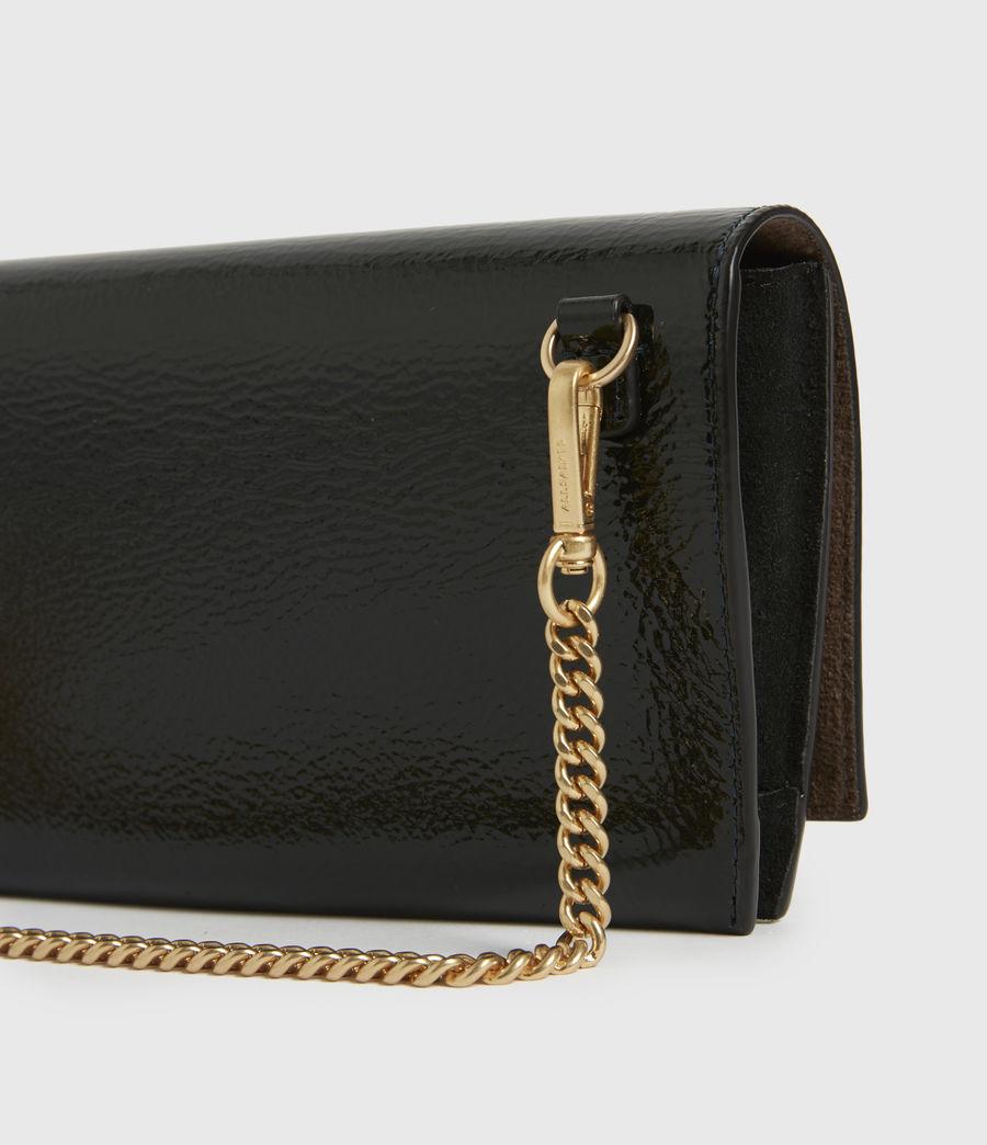 Womens Albert Leather Wallet (dark_green) - Image 5