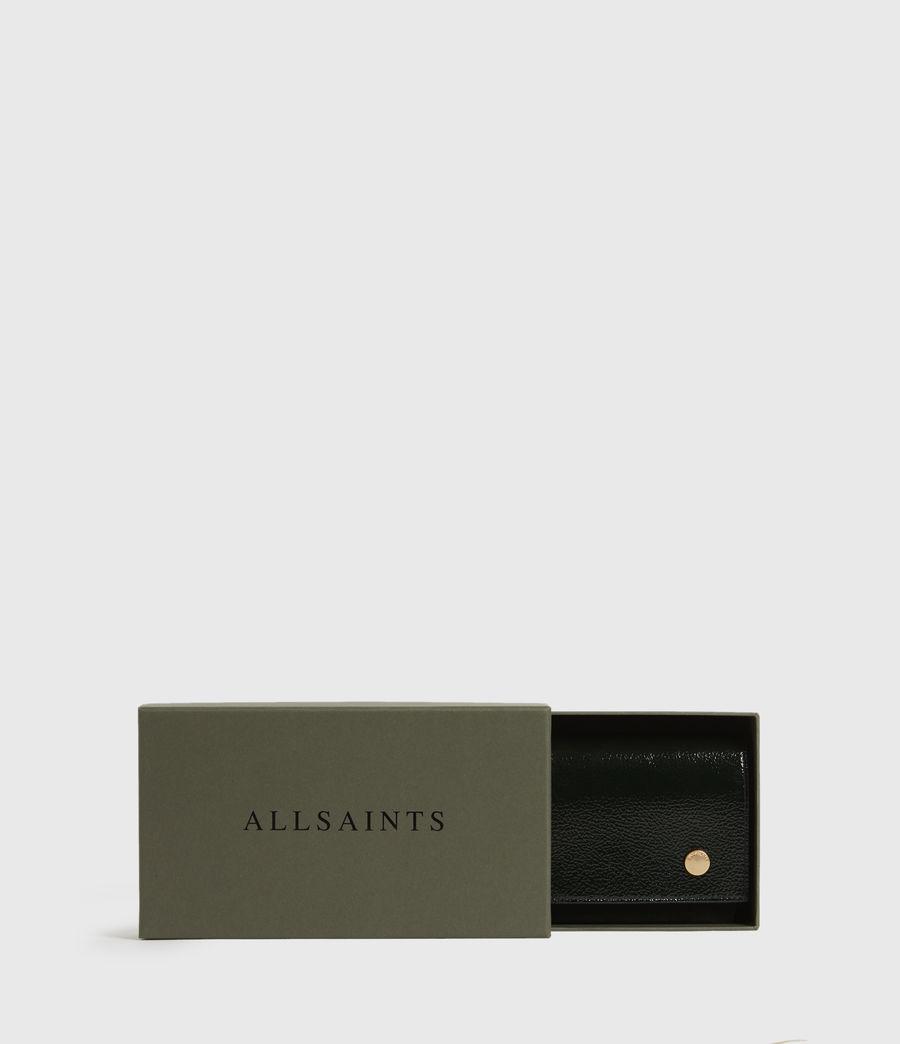 Womens Albert Leather Wallet (dark_green) - Image 7