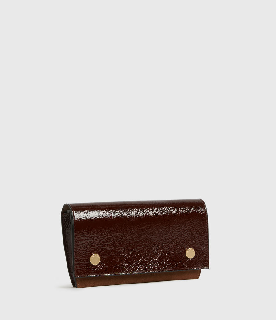 Women's Albert Leather Wallet (biscuit_brown) - Image 3