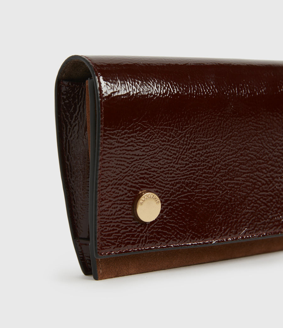 Women's Albert Leather Wallet (biscuit_brown) - Image 4