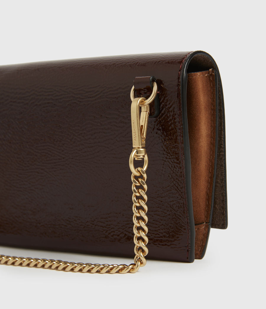 Women's Albert Leather Wallet (biscuit_brown) - Image 5