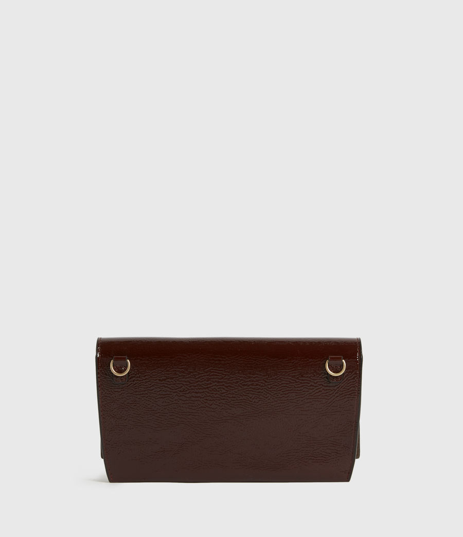 Womens Albert Leather Wallet (biscuit_brown) - Image 6