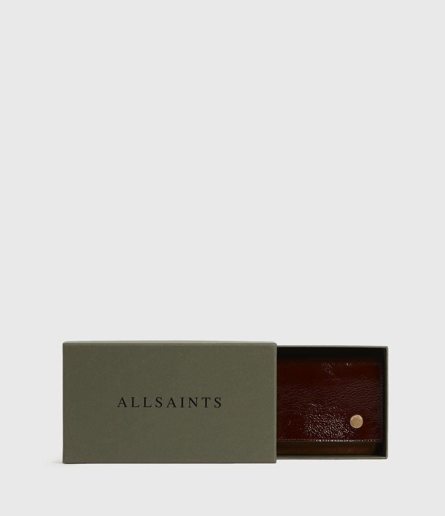 Women's Albert Leather Wallet (biscuit_brown) - Image 7