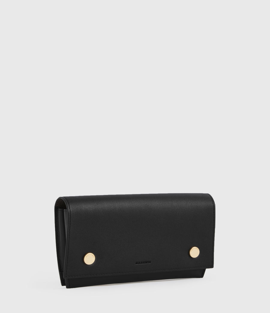 Women's Albert Leather Wallet (black) - Image 2